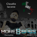 More Bass Exclusive Mix, Episode Nine. Claudio Iacono from Italy (Underground) morebass.com