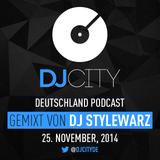 DJ Stylewarz - DJcity DE Podcast - 25/11/14