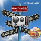 Vivre l'E-médias 14 Novembre 2014 avec Aline Camboulives