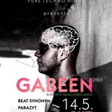 GabeeN @ Washroom,Pure Techno Night,Prievidza,Slovakia 14-05-2016