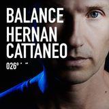 Hernan Cattaneo - Balance 026 CD1