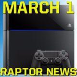 PlayStation 4 Firmware Update 3.5 information - Raptor News March 1