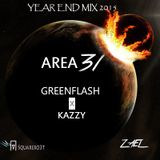 Area 31 #005  [Year Mix 2015] Guest : Kazzy X Greenflash