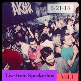 Live from @AKbar SpeakerBox Dj Set Vol1