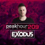 Peakhour Radio #209- Exodus (Aug 16th 2019)