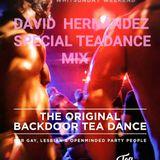 DAVID HERNANDEZ THE BACKDOOR TEA DANCE MIX