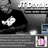 """JT Donaldson on """"Music To Shake Your Ass To"""" AMW February 27th 2014"""