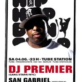HipHop Don't Stop Radio Show #21 on 93,6 Jam FM PREMO mix by DJ DISTER hosted by SAN GABRIEL