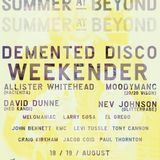 Allister Whitehead Live At The Demented Disco Weekender. 18th August 2018