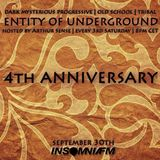 Arthur Sense - Entity of Underground 4th Anniversary [September 2015] on Insomniafm.com