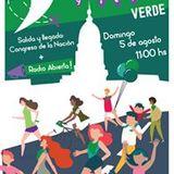 Mariela Velardez del Frente Popular Dario Santillán - Caravana y feria verde