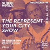 The Regulator Show - 'The Represent Your City Show' - Rob Pursey & Superix & Tom Lea