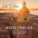 Mat Fellous -Mix Live @ Quai Saint Tropez Spring 2019