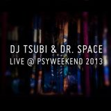 """Boogie Knights"" Dj Tsubi & Dr Space B2B DJ set live @ Psyweekend 2013."