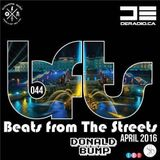 Donald Bump Beats From The Streets Guest Mix April 2016