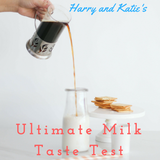 The Milk Taste Test - with Harry and Katie - for Gair Rhydd Advice