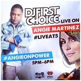 Live At 5 on Power 105.1 w/ Angie Martinez September 29, 2014