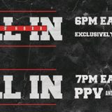 JLW Podcast #121 - ALL IN Predictions, WWE Raw 8/27/18