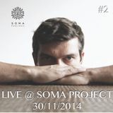BJORN WILKE. LIVE FROM SOMA PROJECT
