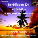 Tommy Dee - Time Differences 229 (25th September 2016) on TM-Radio