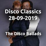 Disco Classics Radio Show 28-09-2019 eerste uur