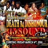 death before dishonor 45 shootout sound clash April 10