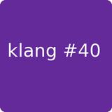klang#40