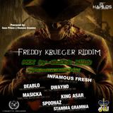 FREDDY KREUGER  RIDDIM MIX by GaCek Killah @StreetBlaze@RIDDIMS FANATIC CREW