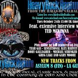 Hard Rock Hell Radio - Heavy Rock Rapture - October 24 feat Ted McKenna
