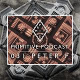 Primitive Podcast 031 by Peter F [Primitive Music]