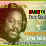 dennis brown secial,  with cashima steele