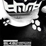 MOLE dark hard techno mix@NEO TRIBE PARTY 06.04.2012
