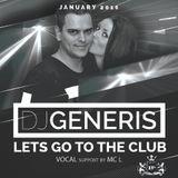 DJ GeneriS - 2016-01 - Lets go to the club (January)