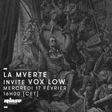 La Mverte invite Vox Low - 17 Février 2016