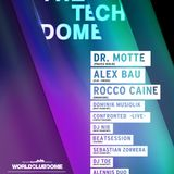 Rocco Caine @ THE TECH DOME w. Dr. Motte [praxxiz berlin] Alex Bau [clr, credo] Rocco Caine, ...