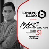 Supreme Radio Episode 51 - DJ Marc Marasigan