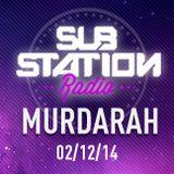 ● MURDARAH ● Set + entrevista en Substation Radio On Line ● DICIEMBRE 2014