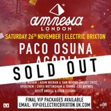 Becky Saif / Live from Amnesia at Electric Brixton / Saturday 26th November 2016