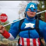 Captain America And The Wild Wild Athens 08-01-2014