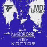 Trance - Mario Florek vs Peter Kontor live @ TheMID Chicago 04-23-2016 (3.5 hours warmup b4 Audien)