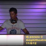 Michalis Kritikos (Dj pazuzu) @ Amphitheatre club Lindos 11/8/12