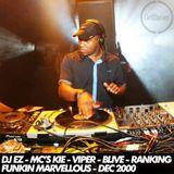 DJ EZ & MC's Kie, Viper, BLive, Ranking - Funking Marvellous - December 2000