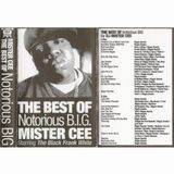 Mister Cee - The Best Of Notorious B.I.G. (1995) ' Lobotomy Sound Archive '