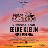 Eelke Kleijn & Miss Melera - Intimate & On The Boat - 16-Aug-2014