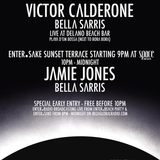 Victor Calderone - Live @ Enter Beach PreParty, Delano Beach Club (Ibiza) 08.08.2013