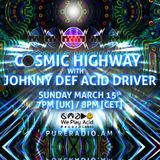 Cosmic Highway_15MAR2015 @ PURE RADIO (Amsterdam)