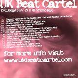 20081103 - UKBCD001 - EvilKeg's Nov 08 Promo Mix