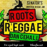 Fri 23rd Sept Senator B on The Universal Reggae Jam Vibesfm.net