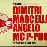 CHemistry 2003-04-29 Queensnight House Classix, Marcello, Angelo, Dimitri