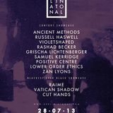 Lower Order Ethics @ Berlin Atonal 2013-07-28